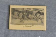 Vintage DIONNE QUINTUPLETS Pocket Mirror