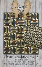 Classic Rendition 1 & 2 Pattern by Antler Quilt Design