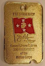 General James Amos USMC 35th Commandant Military Challenge Coin Marine Corps