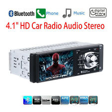 HD Screen Car MP5 Player Stereo Radio Aux W/Remote 4 1 inch 1 Din Bluetooth