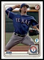 2020 Bowman 1st Edition #BFE-107 Cole Winn - Texas Rangers Base Card
