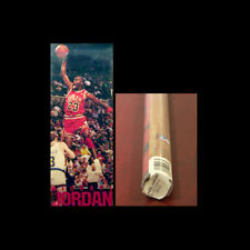 Michael Jordan HUGE 1989 Vintage Door-Sized Chicago Bulls Costacos POSTER