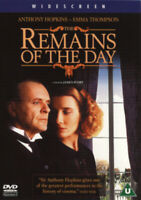 The Remains of the Day DVD (2014) Anthony Hopkins, Ivory (DIR) cert U ***NEW***
