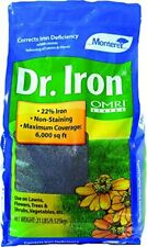 Dr Iron Plant Food Corrects Iron Deficiency Which Causes Yellowing Plants 21lbs