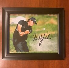 PGA Tour PHIL MICKELSON HAND SIGNED & FRAMED Autographed 8X10 golf photo