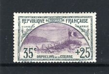 """FRANCE STAMP TIMBRE N° 152 """" ORPHELINS 35c+25c TRANCHEE DRAPEAU """" NEUFxx TB R622"""