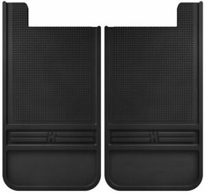 Husky Liners Black Rubber Rear Mud Flaps for Chevy, Jeep, Ford, Dodge Trucks