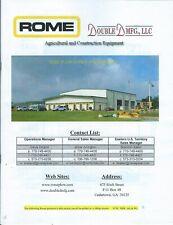 Construction Farm Equipment Brochure Rome Product Line Overview C2013e5974