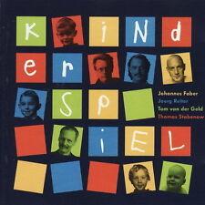 Johannes Faber Joerg Reiter Kinderspiel (Hänschen Klein) 2000 Basic Sound CD