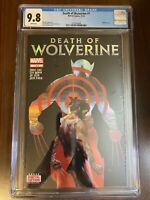 DEATH OF WOLVERINE 1 CGC 9.8 * Holofoil Cover * Marvel Comics + nice reader copy