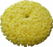 Lake Country Tufted Foam Yellow Cutting Pad - 7.5 inch 45508