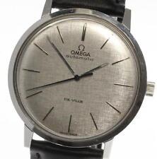 Vintage OMEGA Deville Round cal,711 Automatic Leather belt Men's Watch_451714