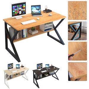 Table d'Ordinateur Bureau Table de Travail Bureau PC Table Bureau à domicile