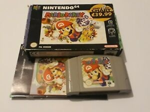 Mario Party 1 Game For Nintendo 64 N64 Worldwide Post! Boxed Complete Rare