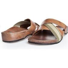 Dr. Scholl LEROS F23669 Herren Pantoletten Slippers Sandale EU 40 UK 4.6 Leder