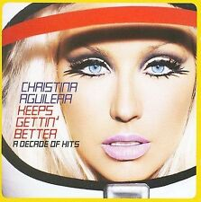CHRISTINA AGUILERA Keeps Gettin' Better: A Decade of Hits CD + DVD TARGET