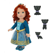 NEW My First Disney Princess BRAVE Merida Big TODDLER DOLL Harris Hamish Hubert