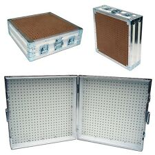 "Pegboard Display Pegboard Rack Stand Portable Pegboard Case - 48"" x 24"" High"