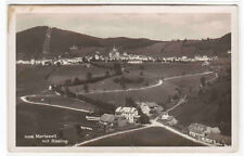 Panorama Mariazell mit Rasing Austria RPPC real photo postcard