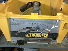 USED 153472-00 SHAFT FOR DW744 TYPE 1   PART ONLY-PICTURE OF ENTIRE SAW