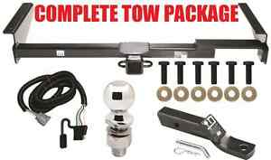 COMPLETE TRAILER HITCH TOW PACKAGE FOR 01-03 LEXUS RX 300 ~ NO DRILL ~ FAST SHIP