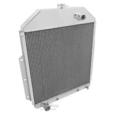 Champion 3 Row Aluminum Radiator CC4252FD For 1942-1952 Ford Truck Ford Engine