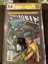 all star batman and robin,the Boy Wonder #10 Recall. CGC 9.8 Signed By Jim Lee