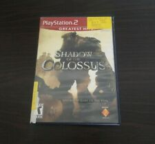 A55 Shadow of the Colossus - PS2 Greatest Hits (Sony PlayStation 2, 2006) EUC