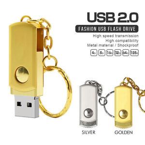 256GB USB Flash Drive Metal Stick Keychain pendrive memory stick For Laptop PC