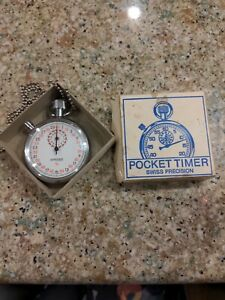 Pocket Timer Swiss Precision Made in Swiss Made