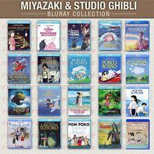 MIYAZAKI & STUDIO GHIBLI- La COLLEZIONE - i 20 MIGLIORI TITOLI - BLURAY Singoli