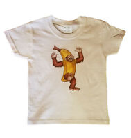 Nana Chimp T-shirt White Toddlers Size 2t-5/6 Monkey Animal Ape Funny Banana