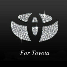 Bling Steering Wheel Logo Crystal Decal Interior Sticker For Toyota Accessories