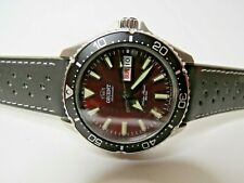 Orient Kamasu Red Dial Automatic Dive Watch 41.8mm Stainless Steel