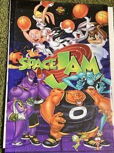 20th Anniversary Space jam Poster *Rare*    ~~READ DESCRIPTION~~