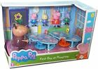 Peppa Pig Peppa's First Day at Playgroup Playset with 5 Action Figures Toy Set