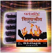 1 x Patanjali Ayurveda Shilajit 20 Caps Increases Sperm Count Libido Enhancer