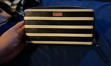 NWOT~Kate Spade~Zip Around Wallet~STRIPE~