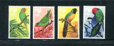 FIJI 481-84, 1983 BIRDS (PARROTS), MNH (FIJ007)