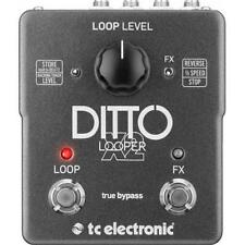 TC ELECTRONIC DITTO X2 LOOPER EFFETTO STEREO A PEDALE LOOP FX REVERSE