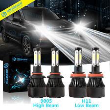 H11 LED Headlight Bulbs For Honda Accord 2008-2017 Honda Pilot 06-18 6000K White