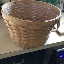 longaberger large round basket