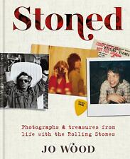 Signed Book - Stoned: Photographs from life with the Rolling Stones by Jo Wood