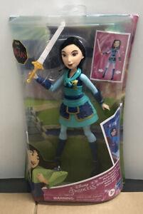 BRAND NEW SEALED 2020 Disney Princess Warrior Moves Mulan Doll