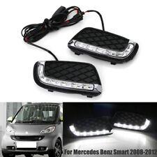 LED Daytime Running Light Fog Lamp For Mercedes Benz Smart Fortwo 2008 2009-2012