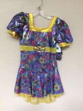 """New """"Sixties Flair"""" skating dress size child Extra Large"""