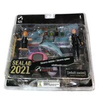 Sealab 2021 Series 1 Bizarro Debbie Bizarro Quinn Figure Set Palisades 2005