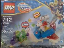 Lego Super Héroe Chicas Krypto guarda el día 30546 Bolsa De Polietileno BNIP