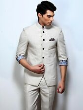 Men Designer Wedding Grooms Indwestern Jodhpuri Suit Hunting Coat Jacket Blazer