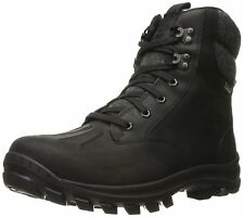 Men's Timberland Chillberg Mid Waterproof Boots Black Leather A198S